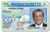 Ma drivers license id card