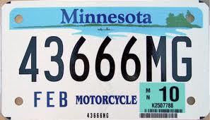 Minnesota motorcycle license