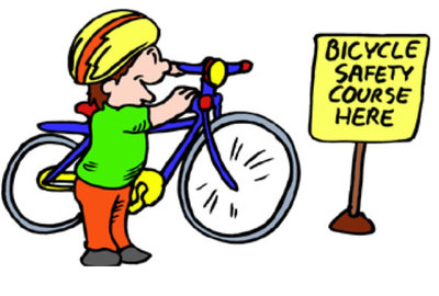 Bicycle safety course here
