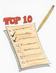 Top 10 things to know list