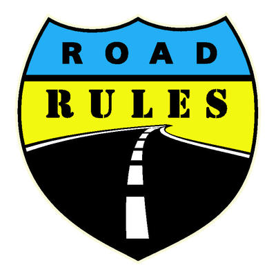 Road rules logo